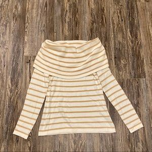 Lilly Pulitzer Belinda Sweater Camel Stripe